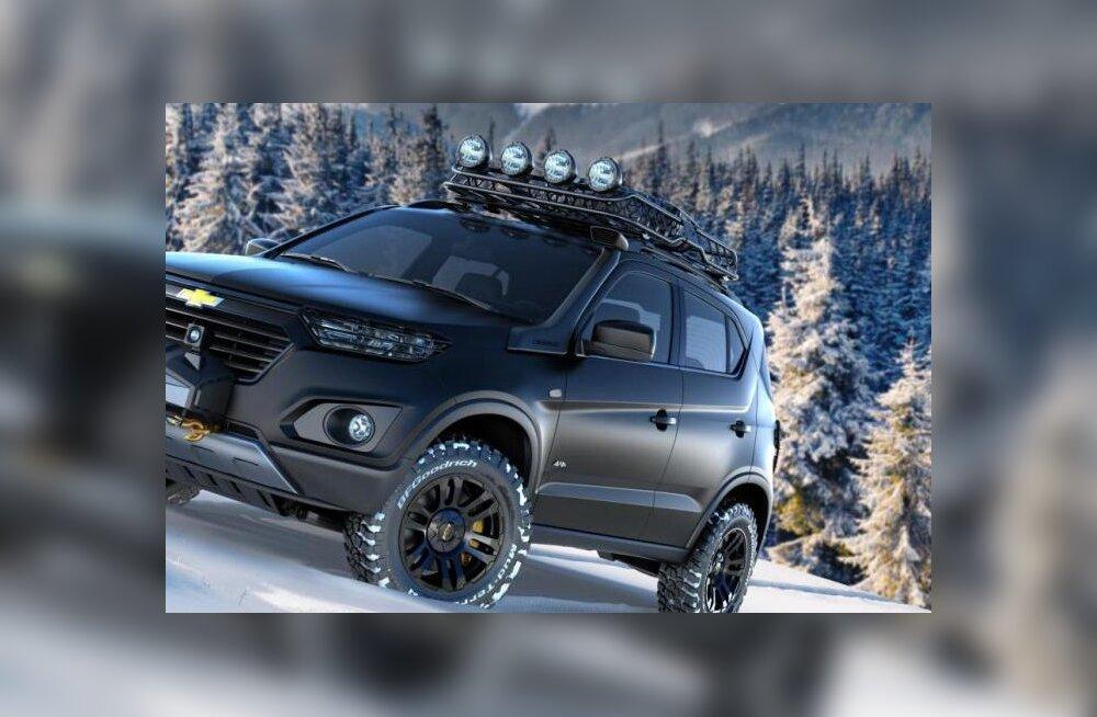 """""""Šniva"""" ehk Chevrolet' Niva uus põlvkond tulekul, Lada 4×4 jätkab vanaviisi"""