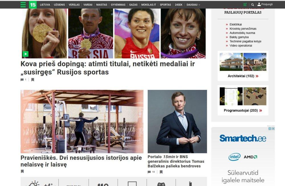Erimeelsused juhtkonnaga maksid Eesti Meedia Leedu üksuse juhile töökoha