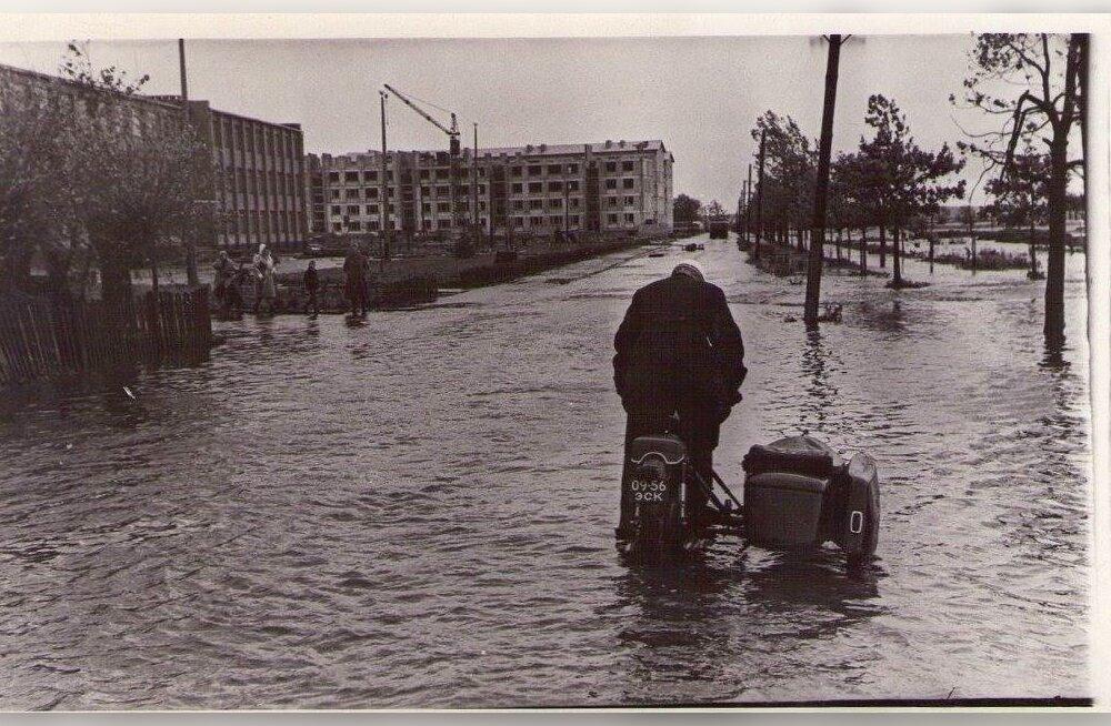 АРХИВНЫЕ КАДРЫ: Ровно 50 лет назад на Эстонию обрушился сильнейший ураган