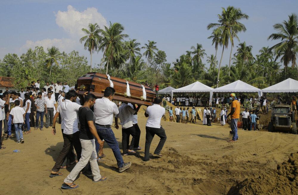 Sri Lankal eksiti ohvrite kokkulugemisel: terrorirünnakus hukkunute arv vähenes drastiliselt