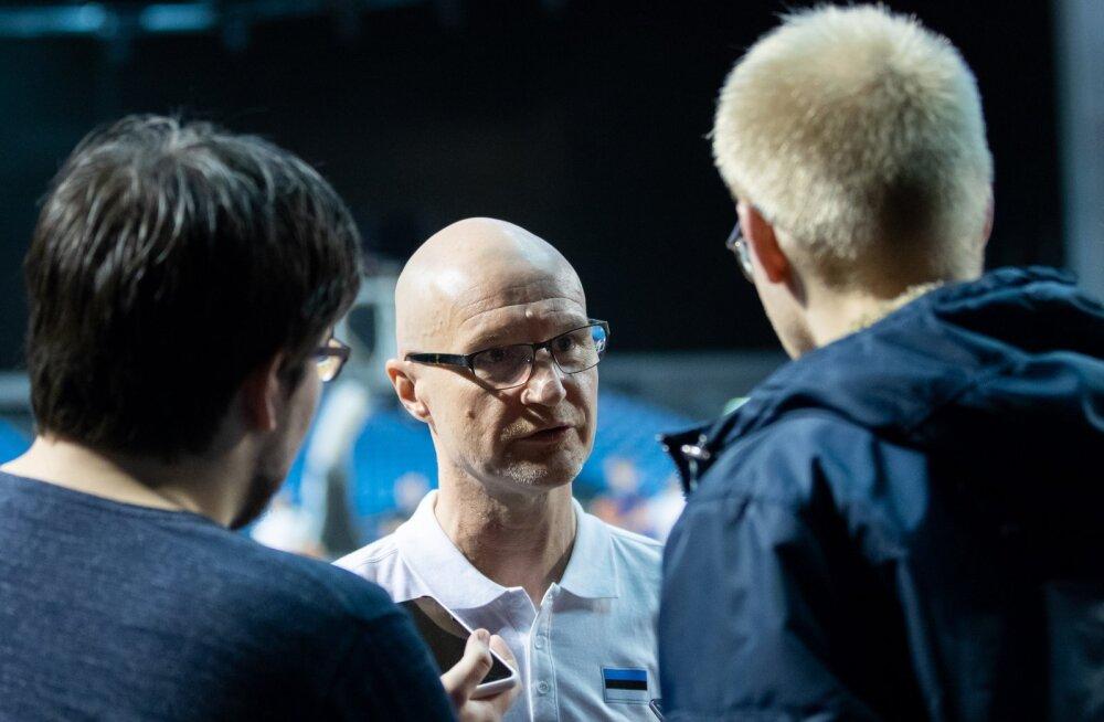 Eesti korvpallikoondise avatud treening
