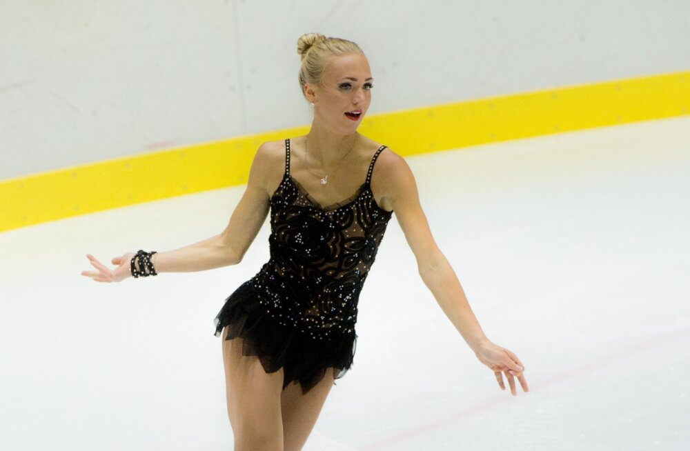 Johanna Allik 2015. aastal Tondiraba jäähallis.