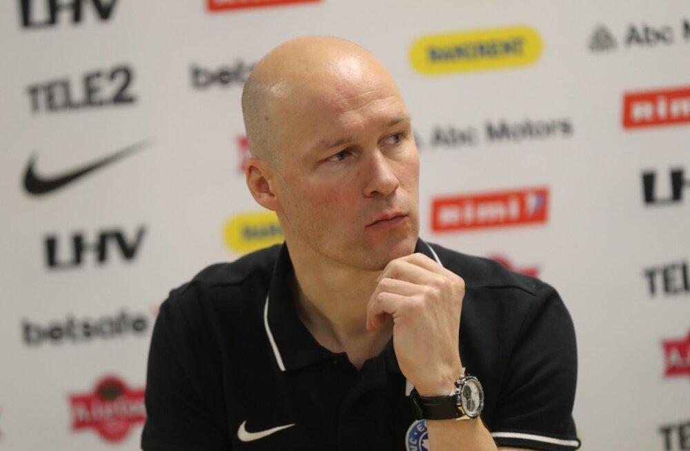 FOTOD | Karel Voolaid jätkab Eesti jalgpallikoondise peatreenerina