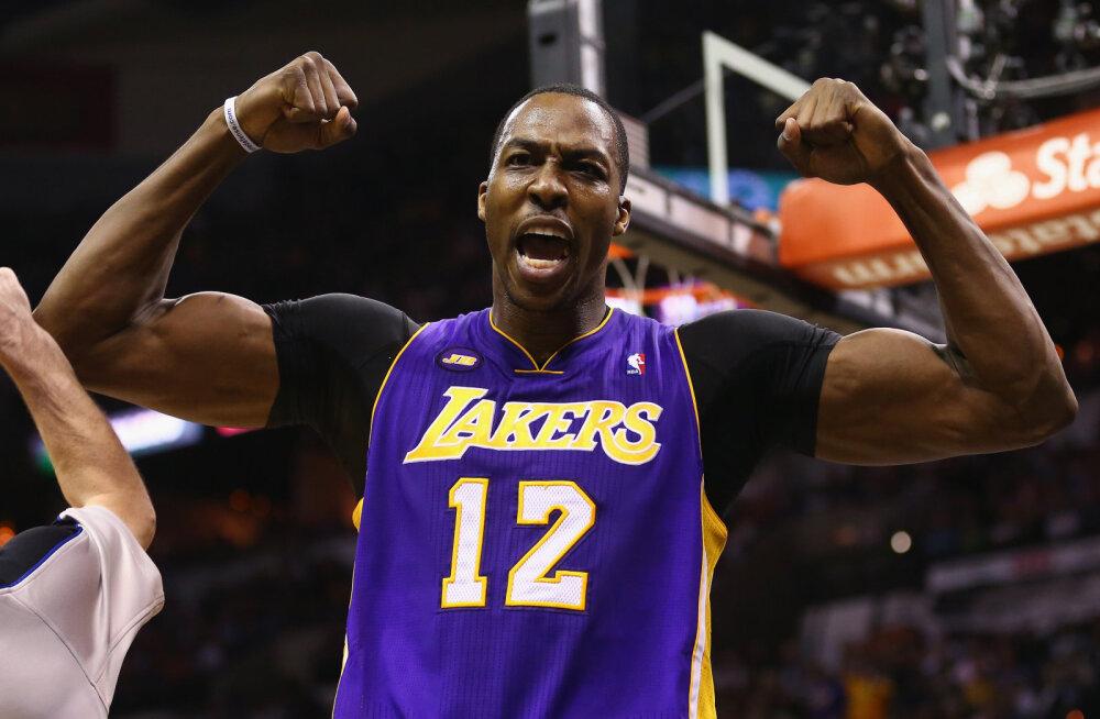 Los Angeles Lakers palkas kunagise superkeskmängija