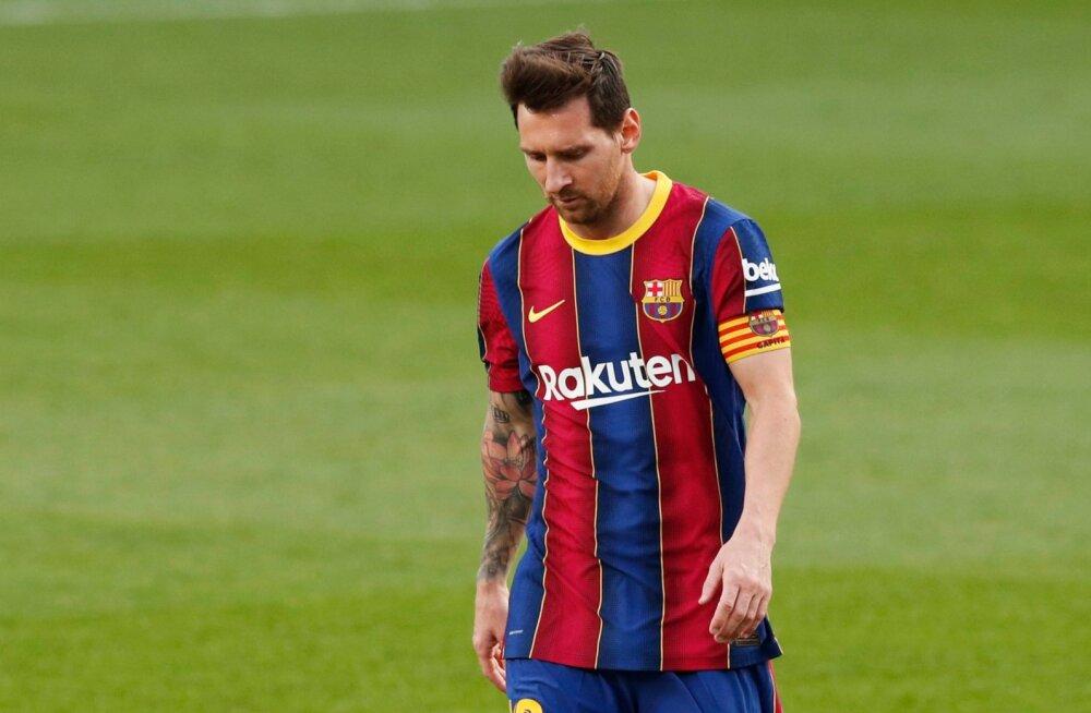 Pettunud Lionel Messi on viimastes El Clasicotes hädas olnud.