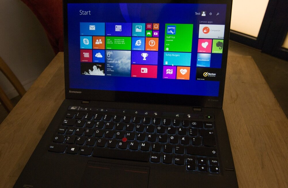 Sülearvuti Lenovo klaviatuur