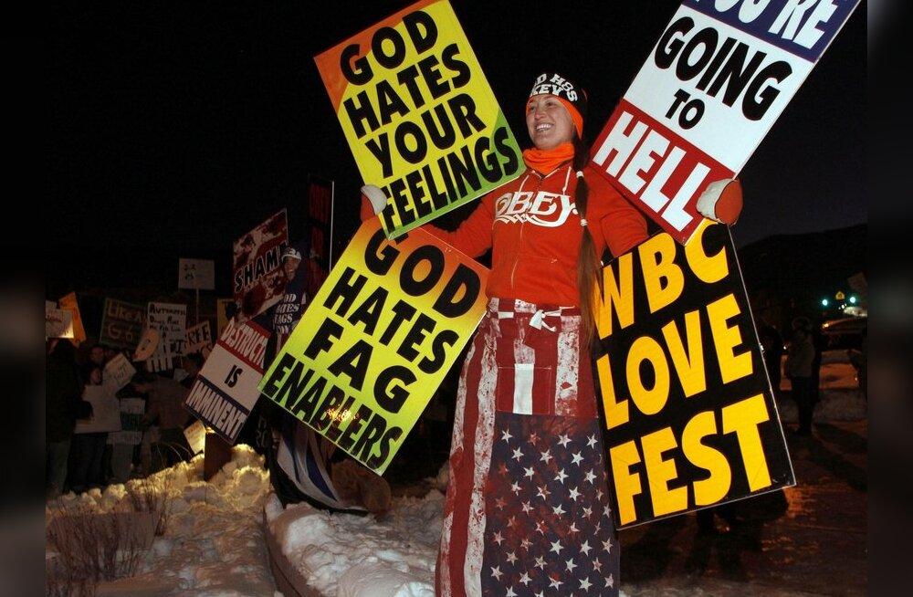USA ülemkohus ei keelanud homovastaseid pikette sõjaväelaste matustel
