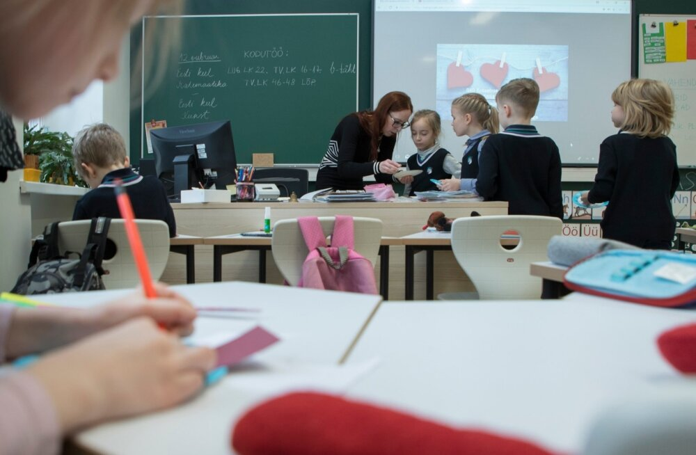Tuleval aastal tõuseb õpetajate alampalk 65 euro võrra.
