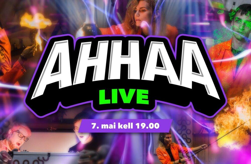 Otse: AHHAA teadusteater live