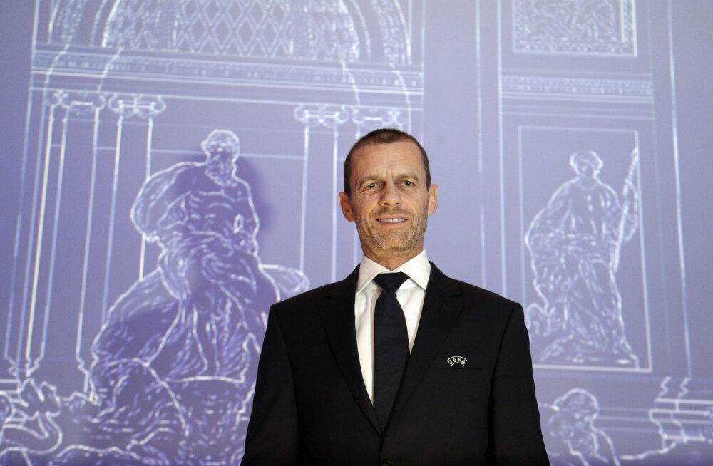 Aleksander Ceferin valiti tagasi UEFA presidendiks