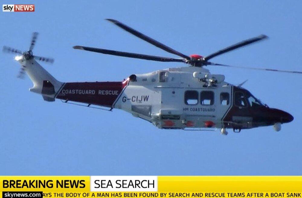 La Manche'il läks põhja alus, leiti vähemalt üks hukkunu