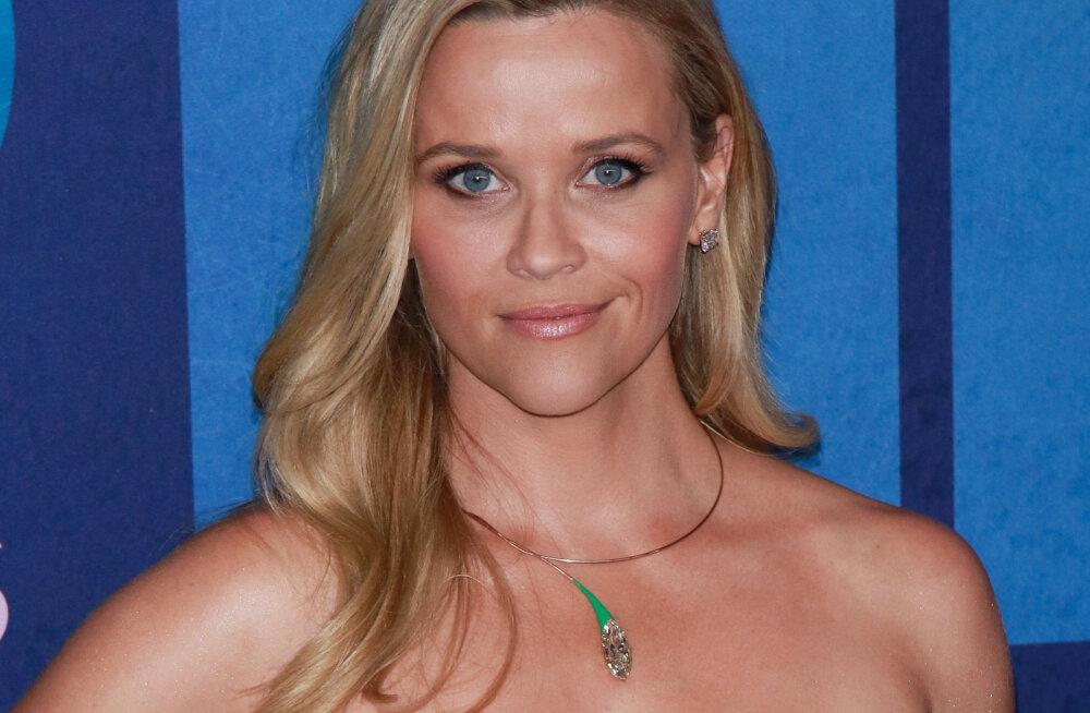 Näitlejatar Reese Witherspoon postitas haruldase foto peaaegu identse vennaga