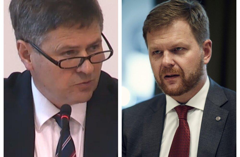 Taani ja Eesti finantsinspektsioonide juhid