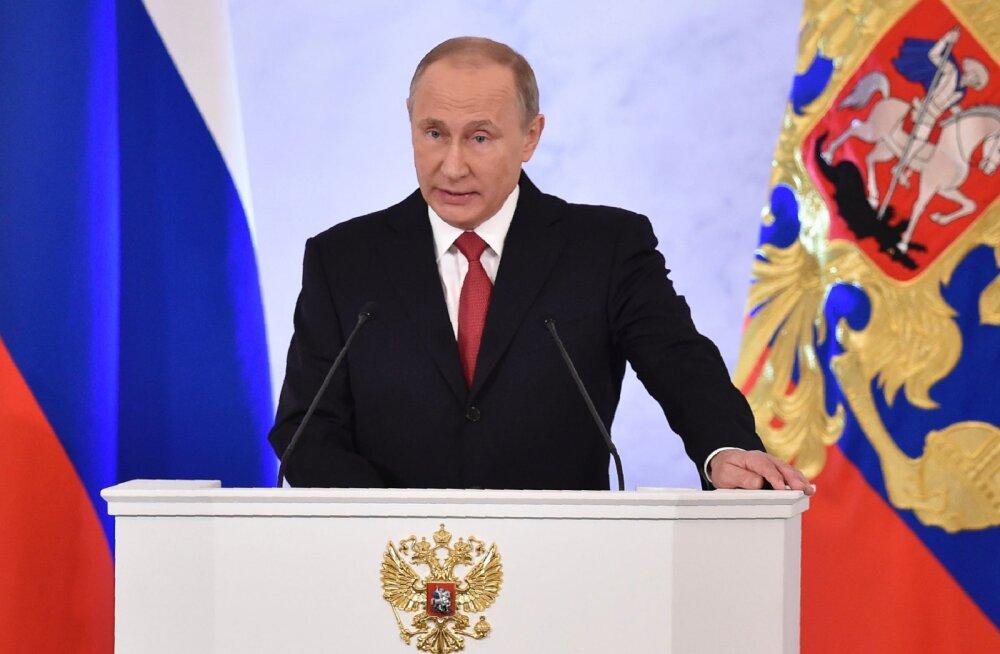 Седативный эффект. Владимир Путин успокоил Федеральное собрание