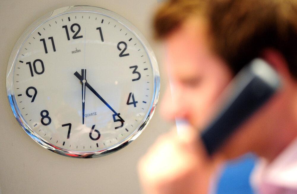 Kas rohkem tunde töötavad eurooplased on produktiivsemad?