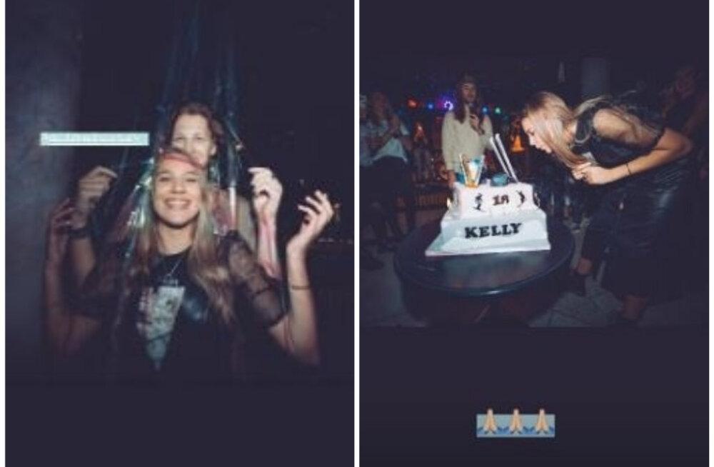 PÄEVA KLÕPSUD | Suur sünnipäevapidu: Kelly Sildaru jagas värvikaid hetki, kus suur roll ka kallimal Mihklil