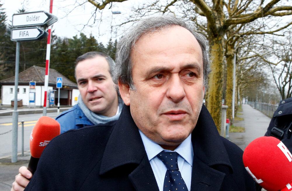 Endine UEFA president Michel Platini vahistati kahtlustatuna korruptsioonis