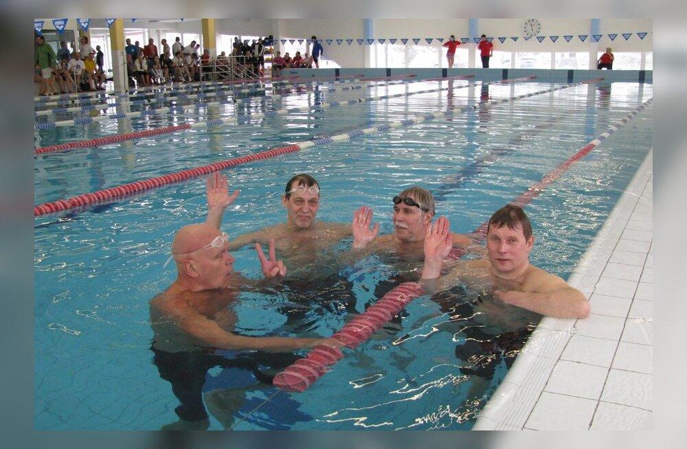 Eesti meisterujujad püstitasid Euroopa rekordi