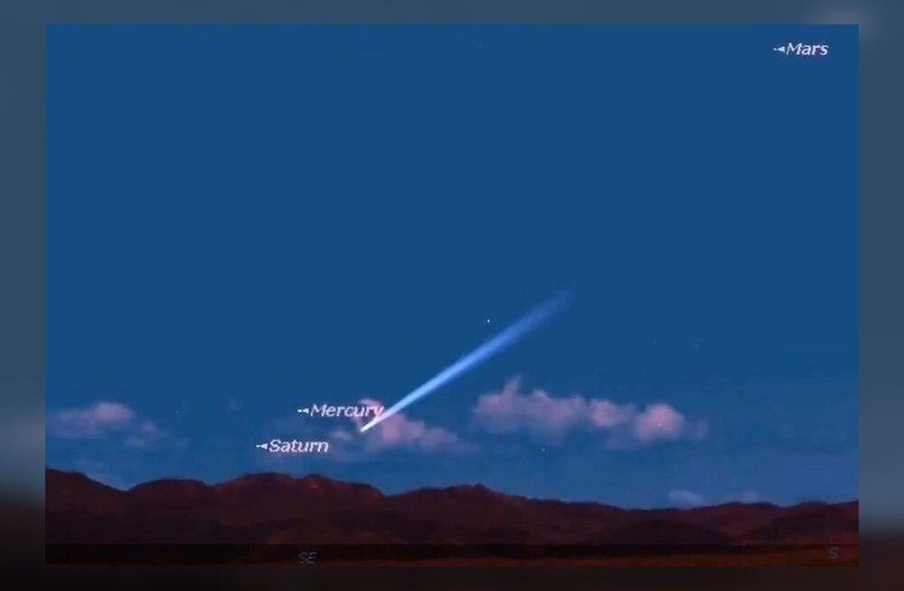 Massiivne komeet võib tänavu taevas särada eredamalt kui Kuu