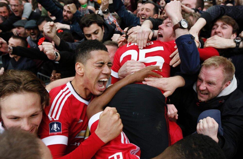 VIDEO: Kolmanda üleminuti värav viis Manchester Unitedi karikafinaali