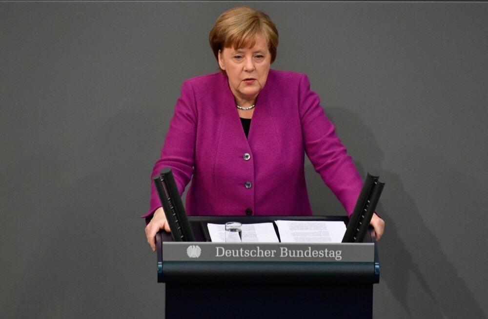 Merkel: tapatalgud Süürias peavad lõppema