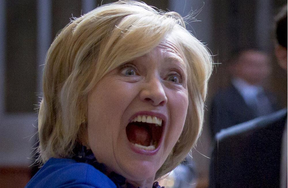 """Клинтон назвала сторонников Трампа """"неприличным сборищем"""""""
