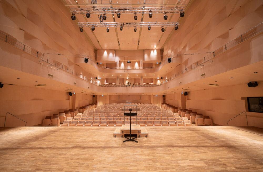 EMTA uue hoonekompleksi juurde kuulub ka tippakustikaga 500-kohaline kontserdisaal.