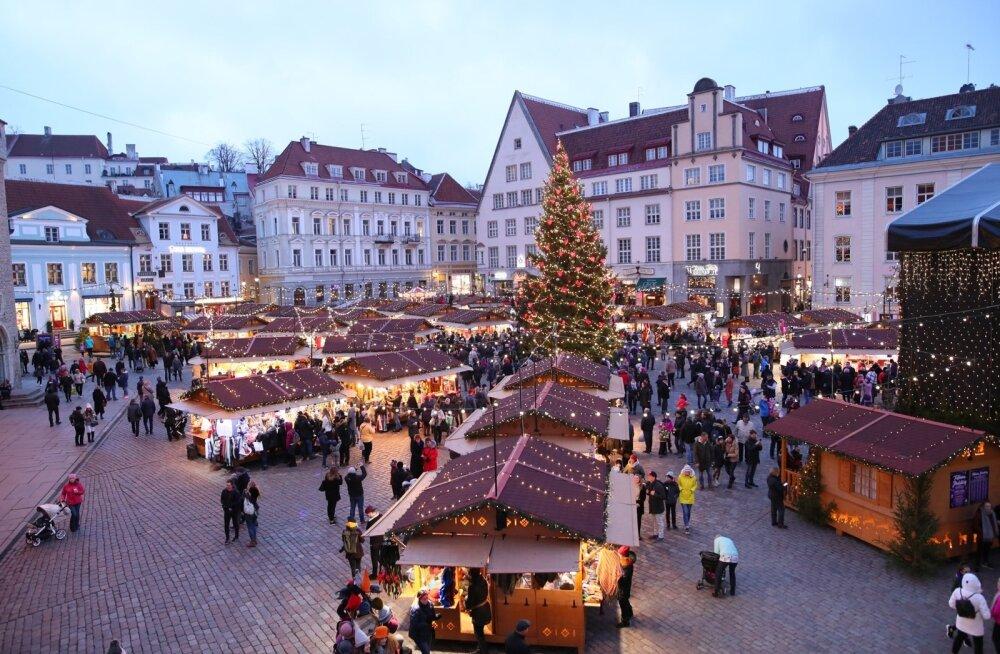 ГОЛОСУЙТЕ! Поможем рождественскому рынку Таллинна стать лучшим в Европе