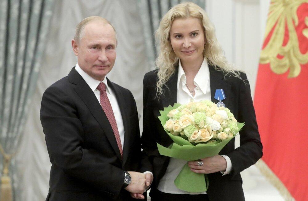 Vladimir Putin ja Eteri Tutberidze