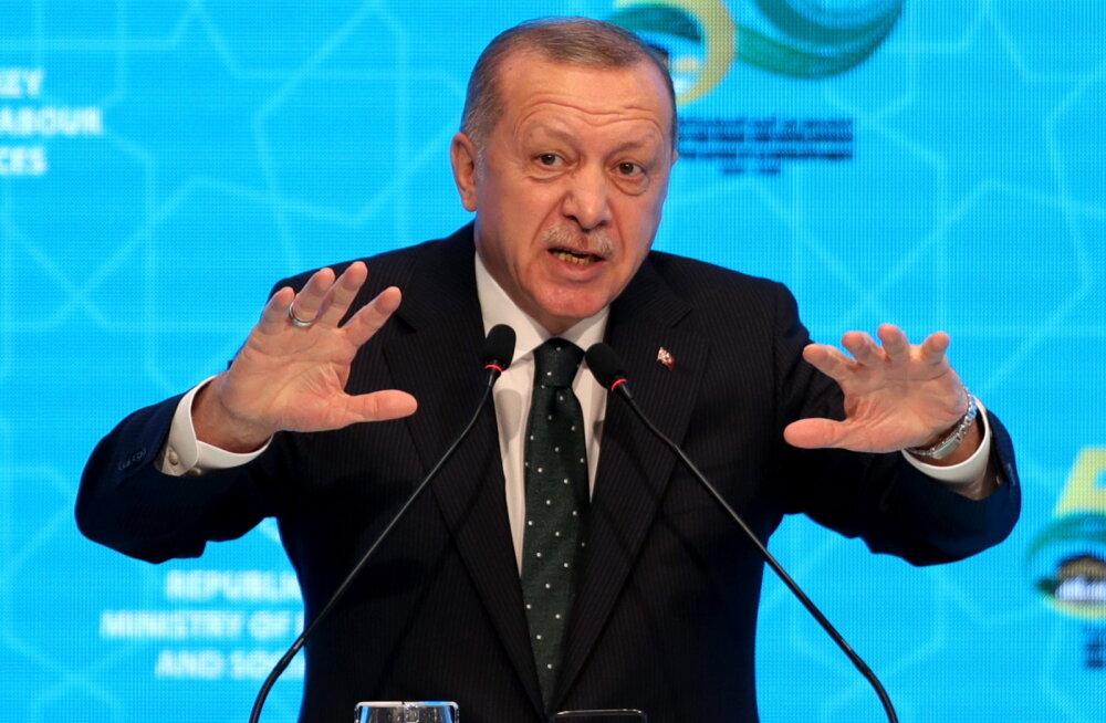 Erdoğan ähvardas sulgeda USA baasi Türgis ja kuulutada indiaanlaste tapmise genotsiidiks