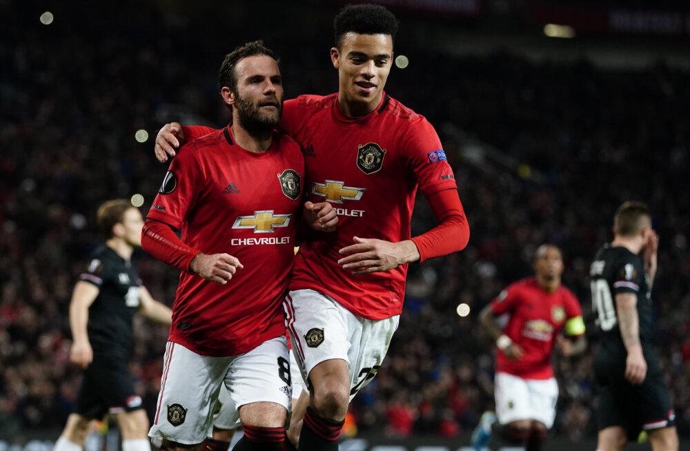 Manchester United teenis ajalugu teinud noormängija toel kindla võidu
