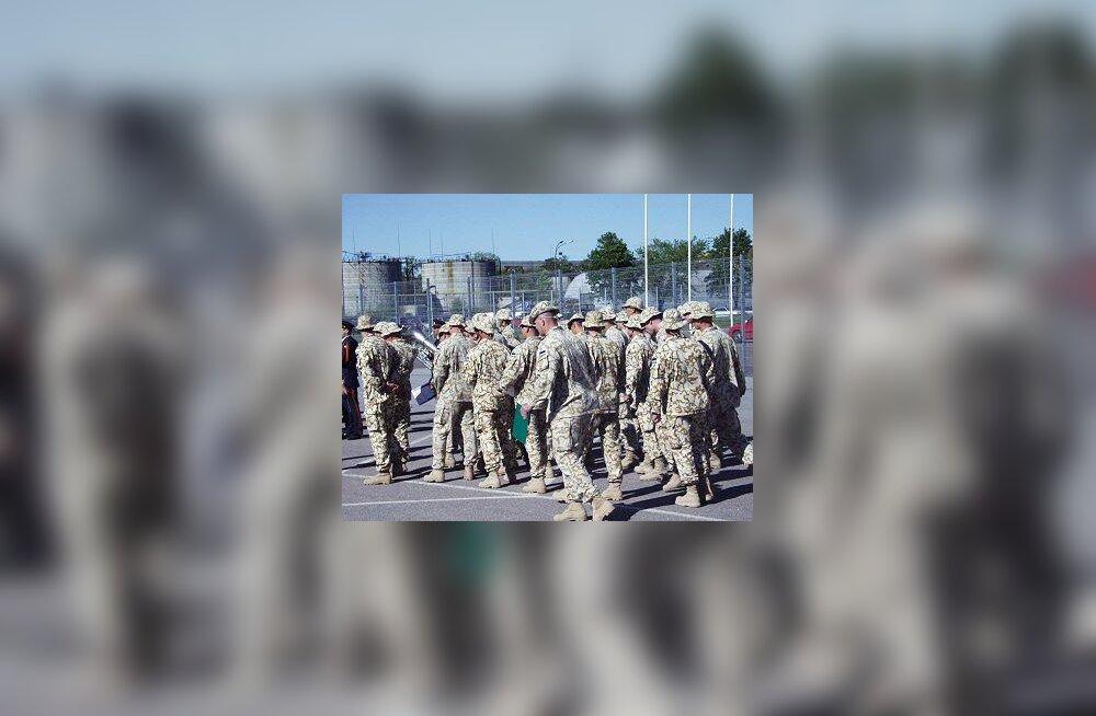 Iraagist naasvad Eesti sõdurid
