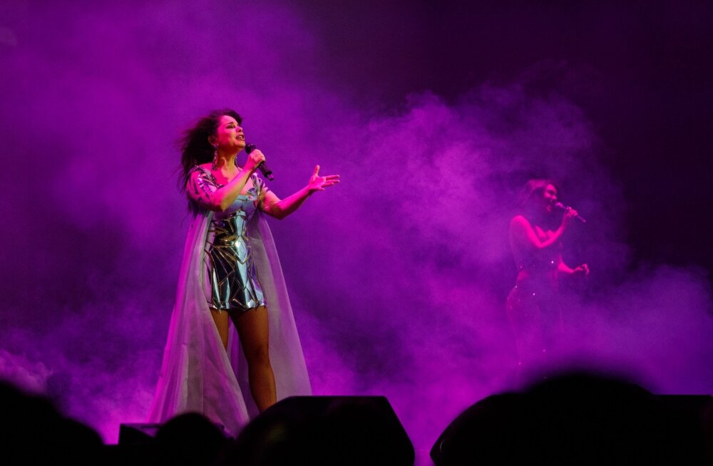Natasha Koroljeva kontsert Alexela kontserdimajas