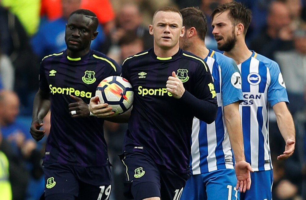 Rooney hiline värav tõi Evertonile viigipunkti