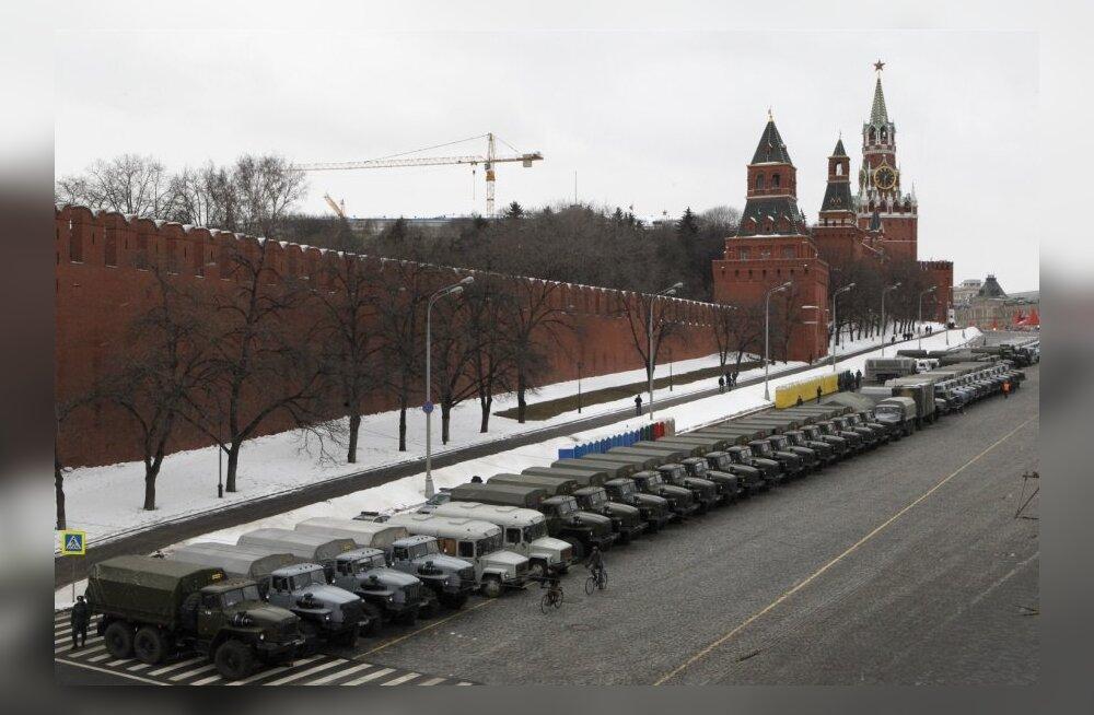 Veoautod Kremli ääres
