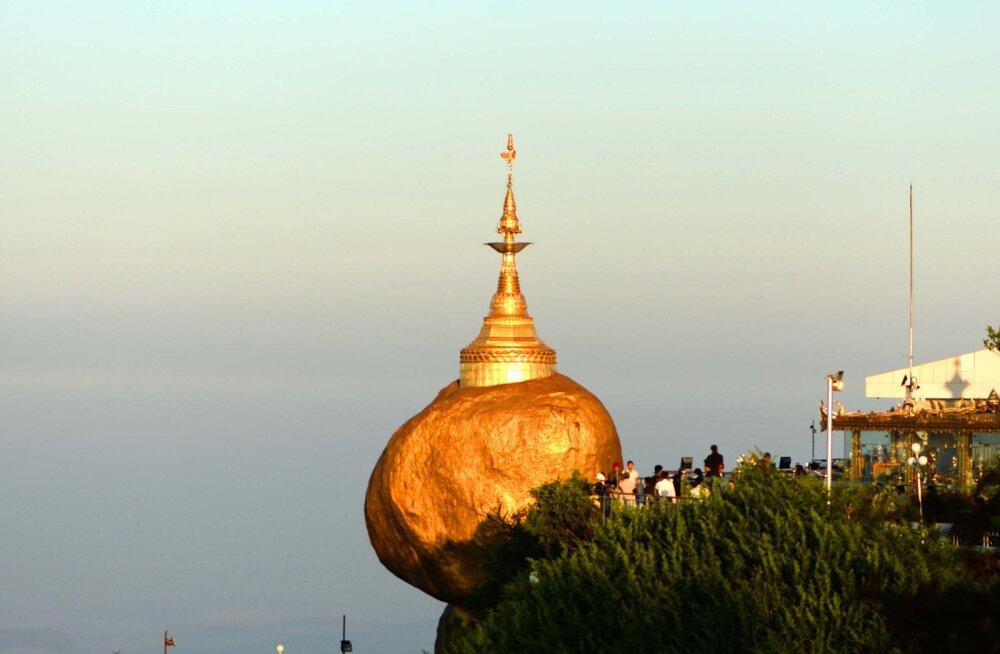 Märkmeid Myanmarist I: Kuld, kiirus, kõrgus ja pudel Hugo Bossi parfüümi