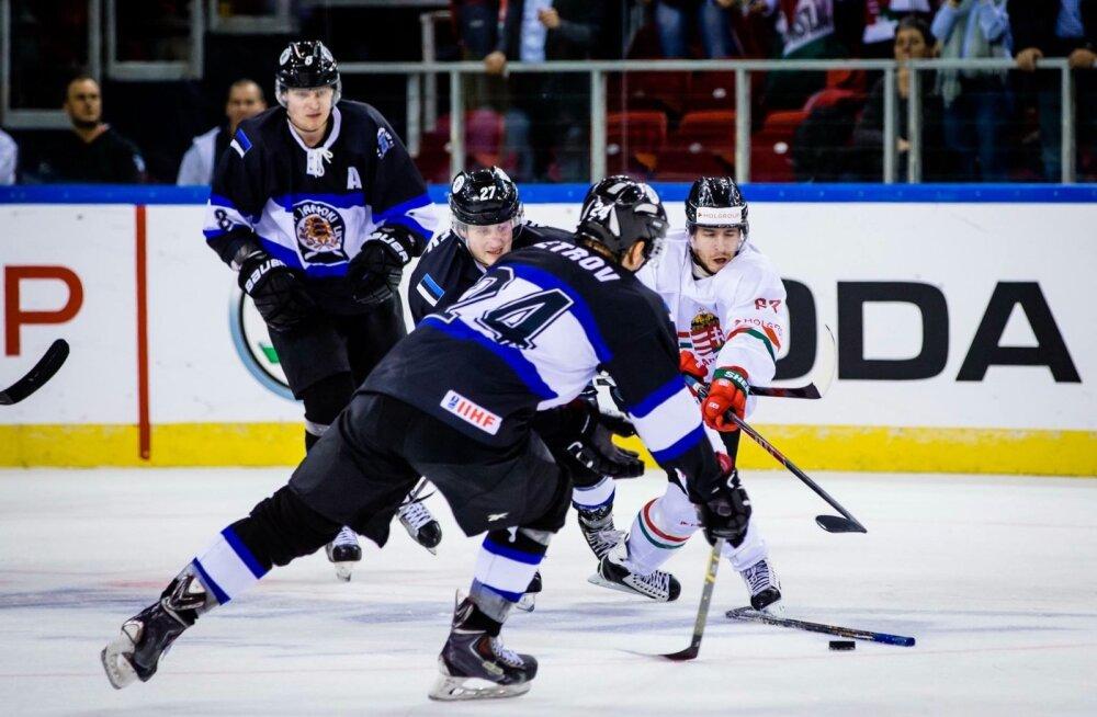 Jäähoki Eesti vs Ungari