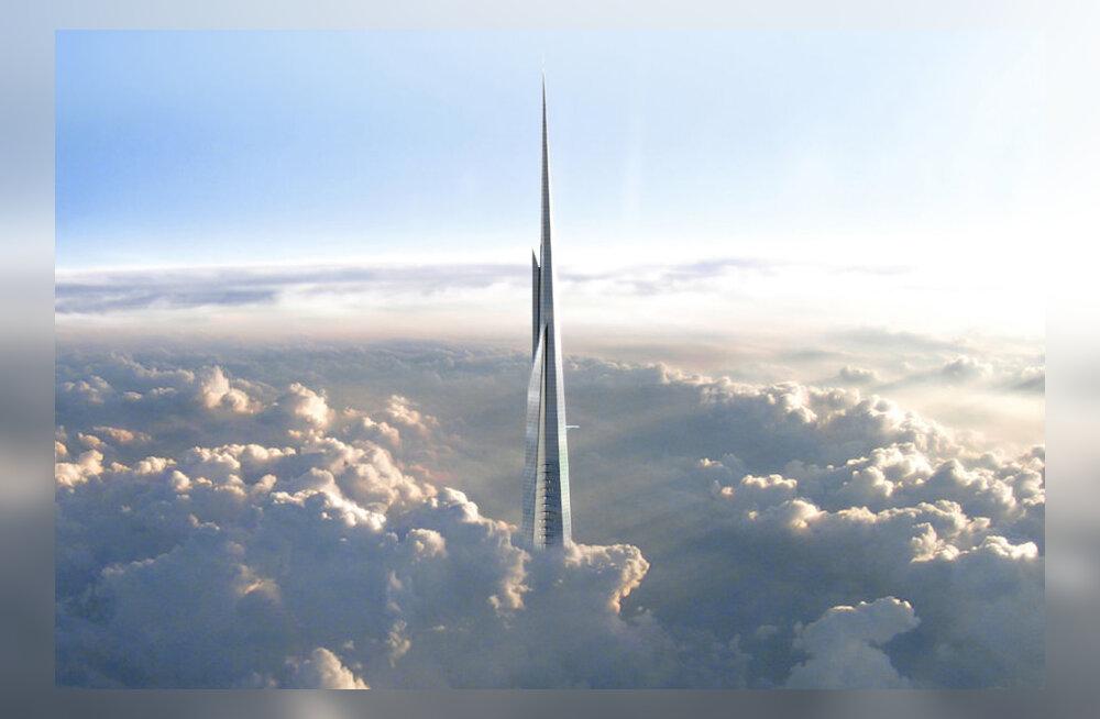 Järgmisel pühapäeval algab maailma kõrgeima pilvelõhkuja - Kingdom Toweri ehitus