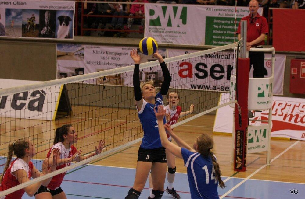 Taani - Eesti võrkpall