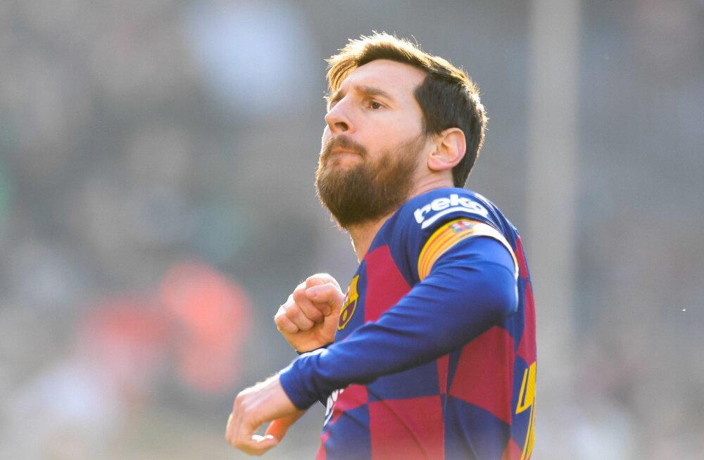 Lionel Messi kõmmutas neli väravat, Madridi Real sai üllatuskaotuse