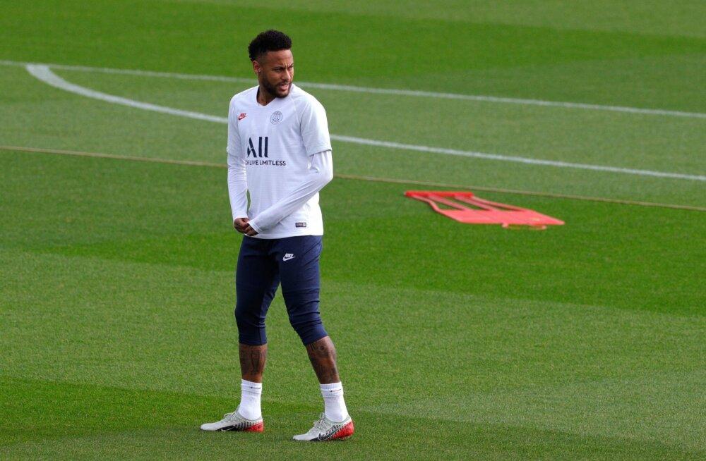 PSG peatreener Neymari üleminekusaagast: mõistan, miks fännid tema peale pahased on
