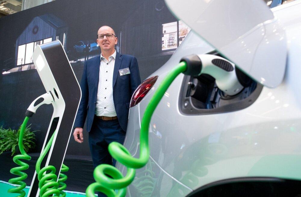 Euroopa Elektriautode Liidu peasekretär Philippe Vangeel