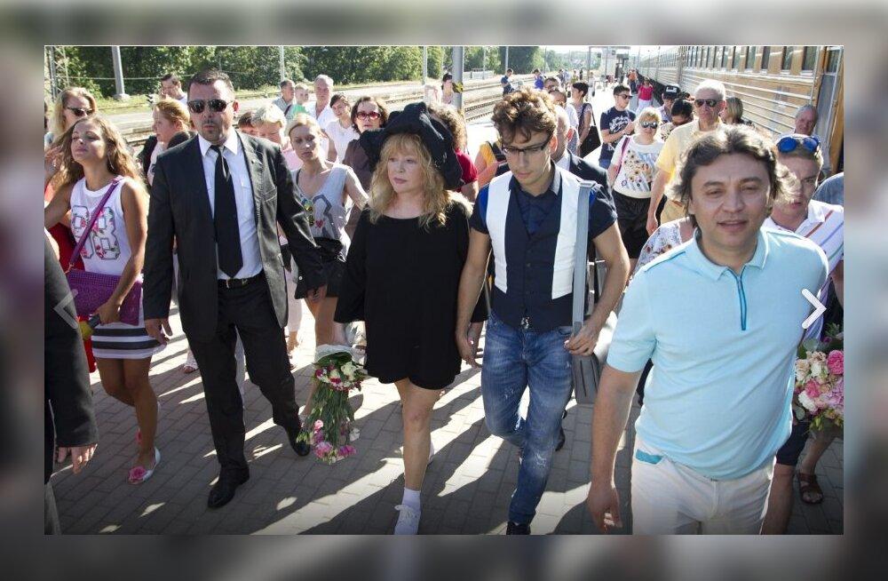Alla Pugatšova Läti sissesõidukeelu saanud lauljate kohta: kahju, kuid pidu peab jätkuma