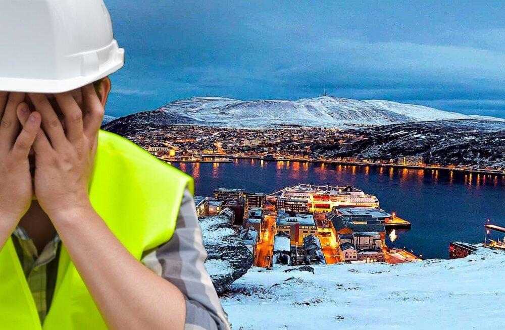 Ужасы работы в Норвегии, или Как эстонским строителям приходилось искать еду на помойке