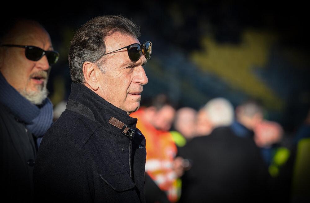 """Serie A klubi omanik: """"Meil veetakse veoautodega surnuid, aga UEFA tahab edasi mängida! Saatke parem maske!"""""""