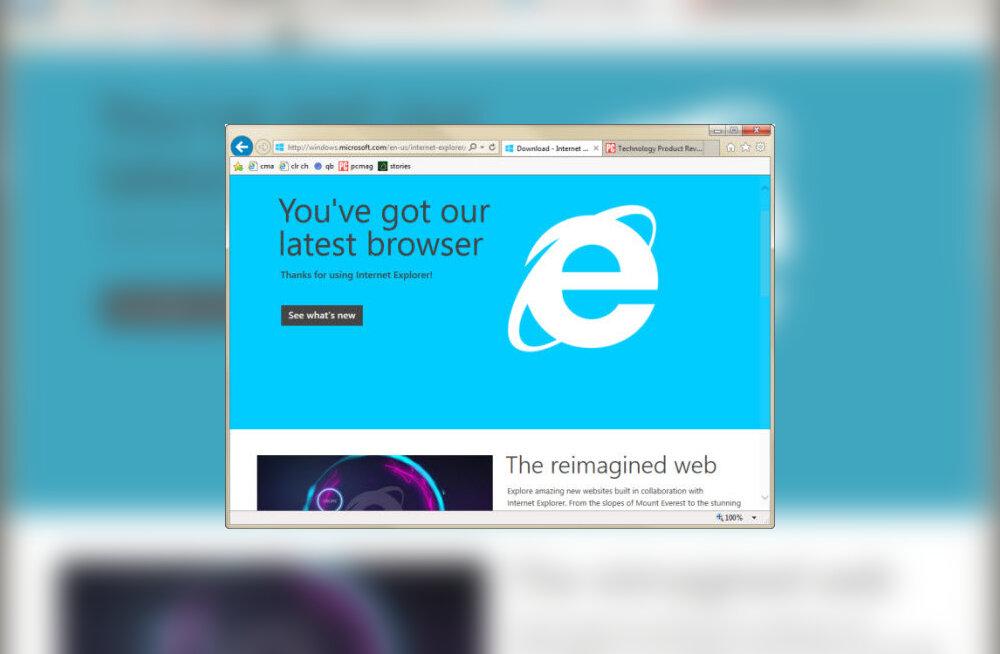 Windows 10 suurimaid üllatusi – uus nobedam brauser