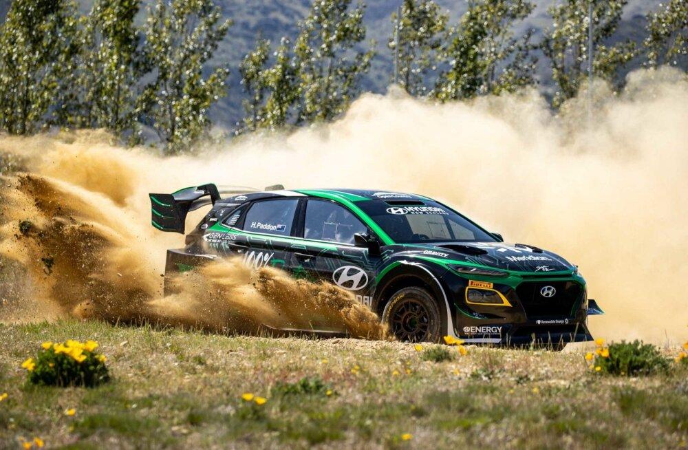 Hyundai Kona EV WRC olla kruusal kiire, aga kui kiire?