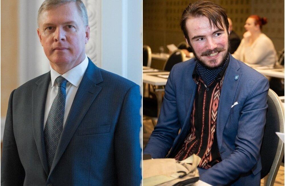 Riigikogu liikmed Kalle Laanet ja Ruuben Kaalep