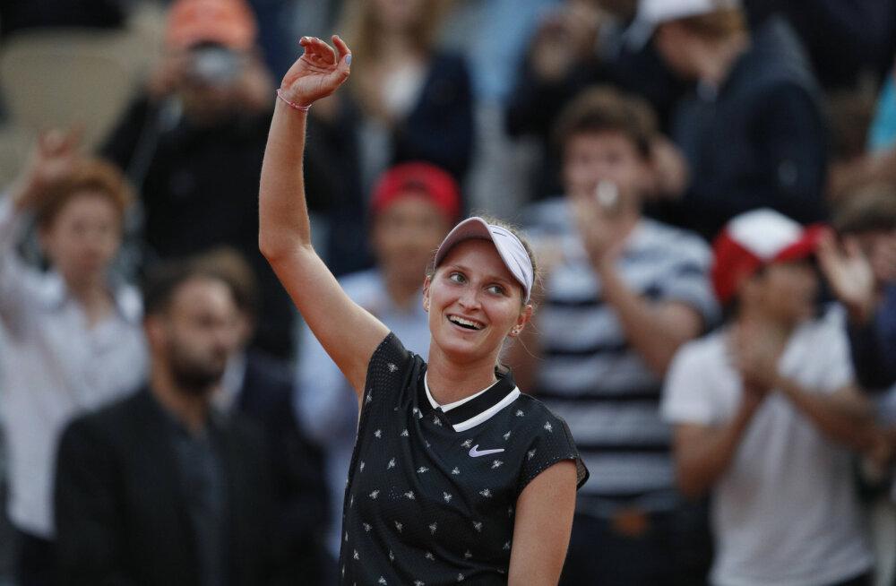 Kaia Kanepi teekonna French Openil lõpetanud Petra Martic langes veerandfinaalis