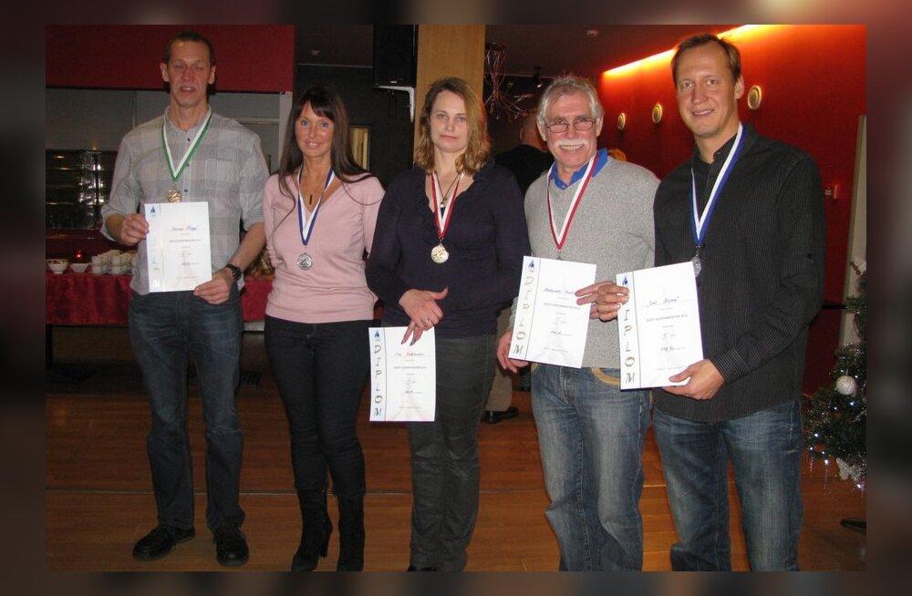 2012. aasta meisterujumise Eesti meistrivõistluste parimad